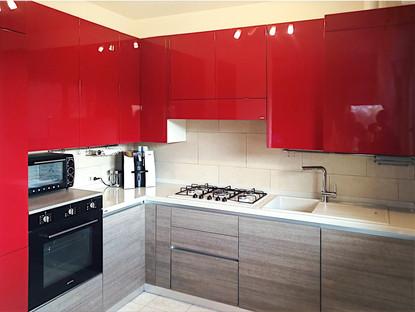 intramontabile rosso lucido