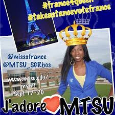 france makabu mtsu homecoming queen campaign flyer
