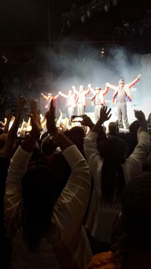 New Edition at the Barclays Center in Brooklyn, NY