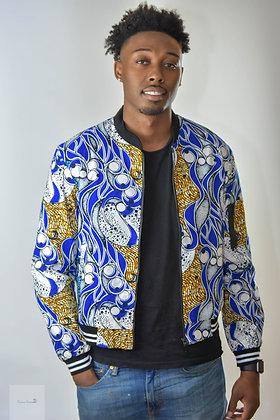 Afroprint Bomber Jacket