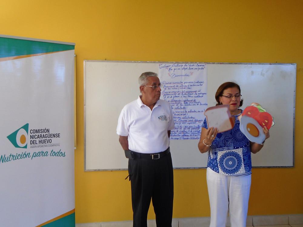 Alfonso Valerio, CNH, Josefina Bonilla, Red NicaSalud