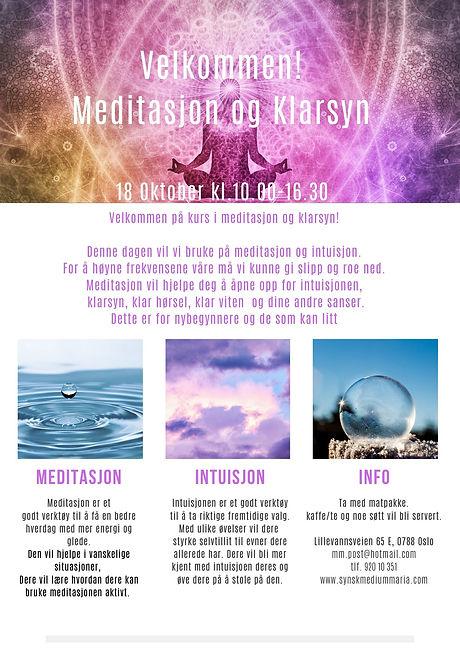 Meditasjon og klarsyn