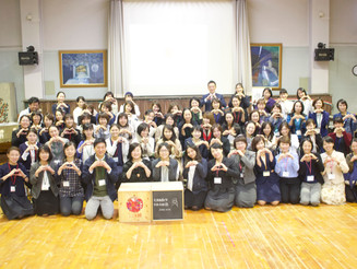 大阪教育大附属幼稚園にて講演&ワークショップを行いました(2018年10月31日)