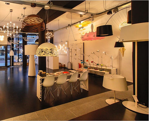 De Licht Bedenkers - Showroom verlichtin