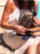 MayaSac créatrice  de pochettes et de sacs à main éthiques et éco-responsables pour femme à Nice , Provence Alpes Cote d'Azur, France. Sac à main commerce équitable pour femme made in france