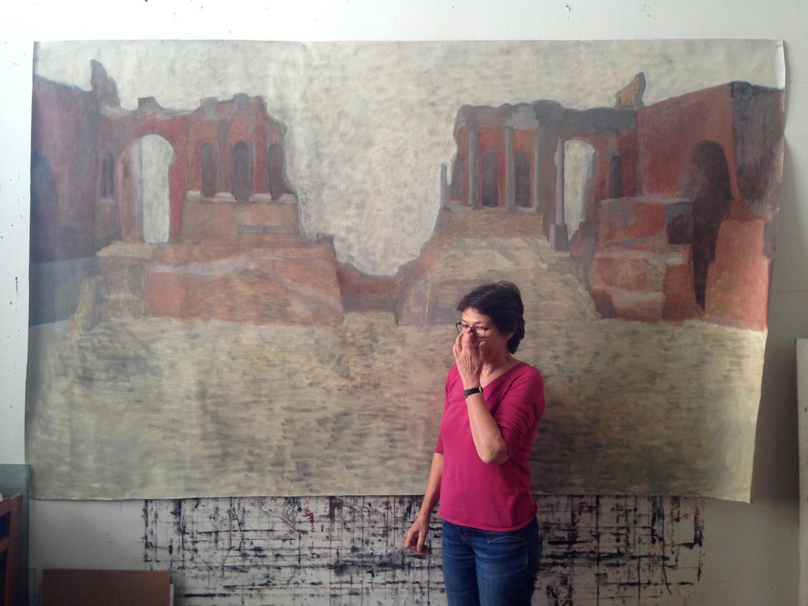 Megfestette Taorminát, 2014