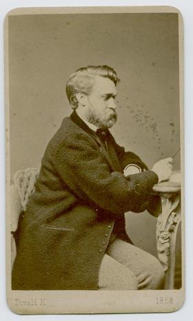Divald K.: Lechner Lajos [anyai dédapám] portréja
