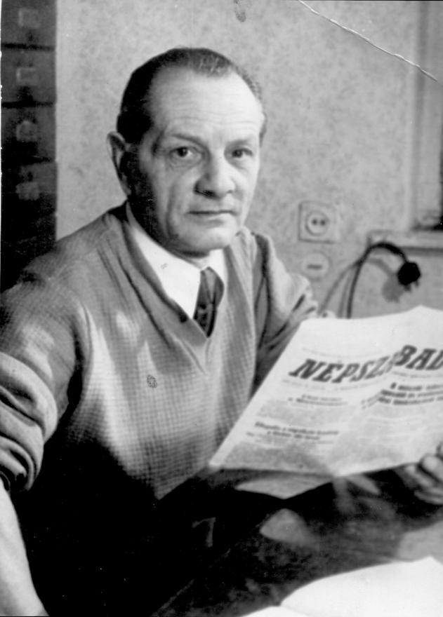 Apám a Kőbányai téglagyárban, cca 1960