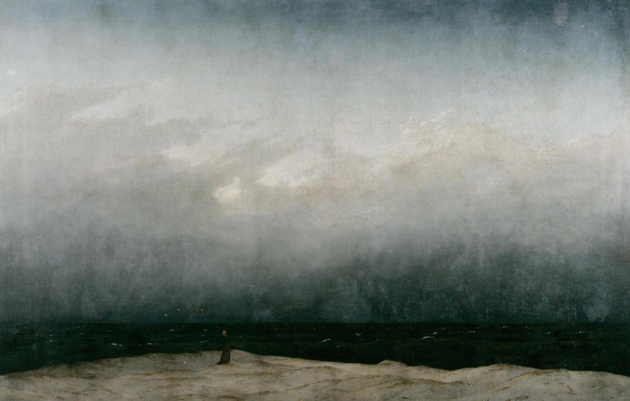 Caspar David Friedrich: Mönch am Meer