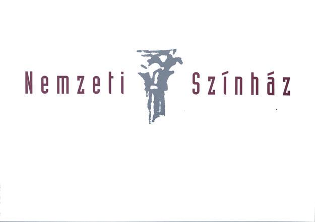 a Gödör helyére tervezett Nemzeti Színház logóterve