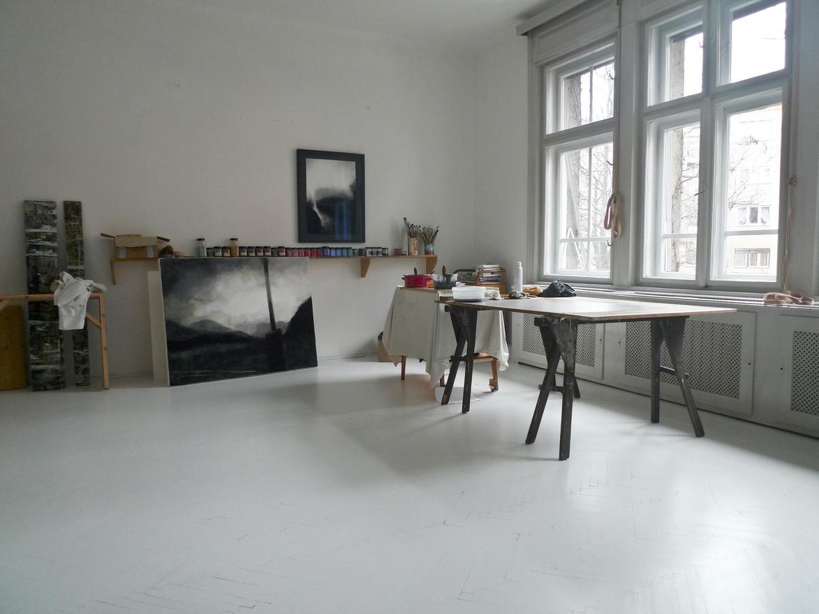 Felújitott műterem
