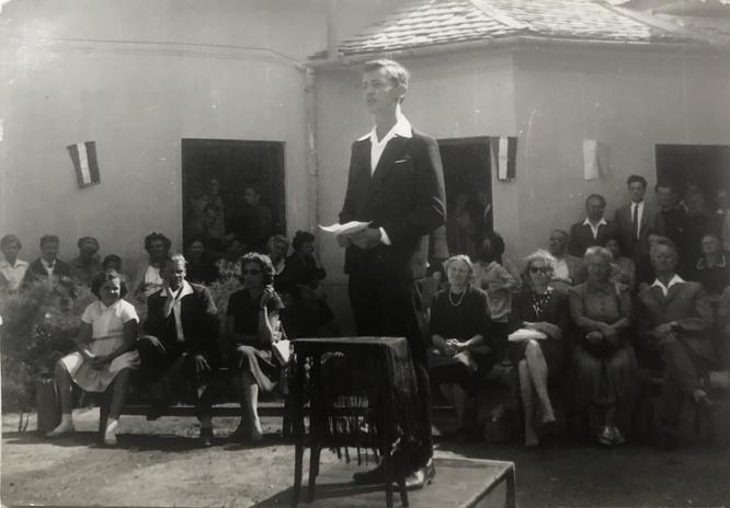 Évnyitó beszéd Szentendrén, 1962