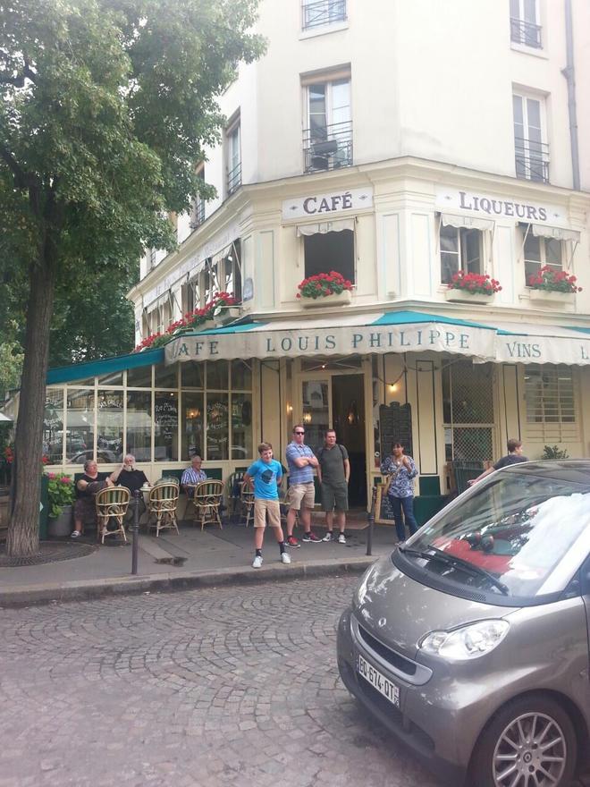 Louis Philippe, Párizs