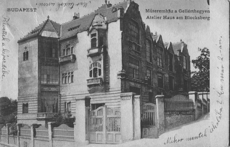 A házunk egy múlt századi képeslapon
