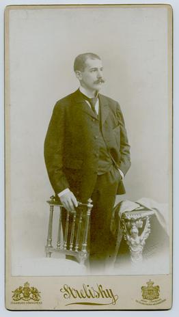 Anyai nagyapám, Degré Miklós portréja