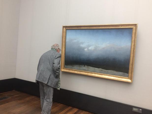 A Friedrich kép a restaurálás után