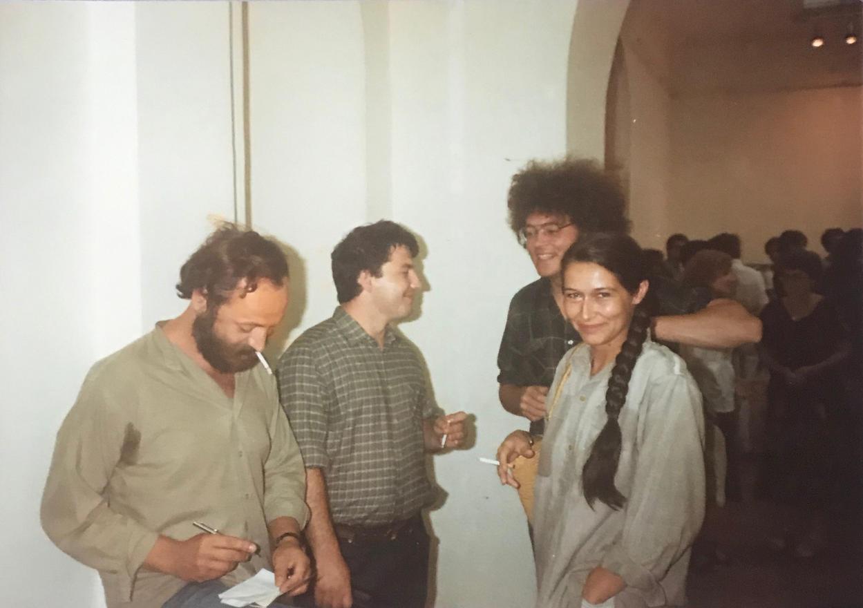 """Ernst múzeum """"7 művész"""" kiállításmegnyitója, 1984"""