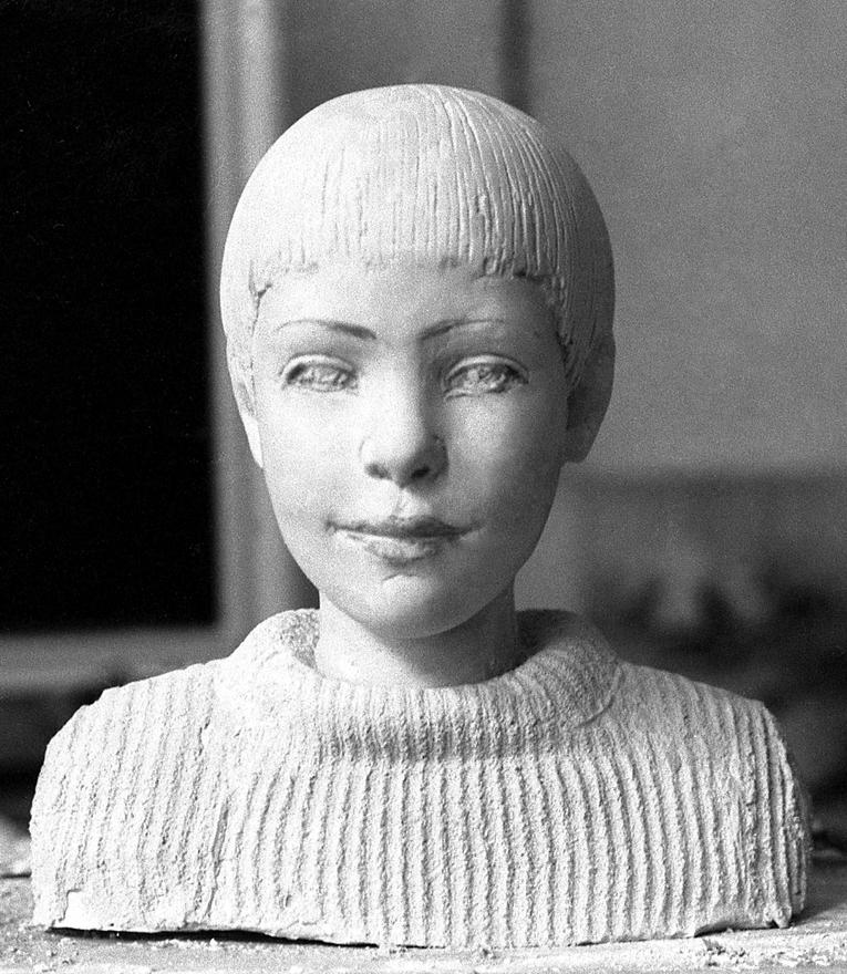 Bakos Ildikó: gyerekportré