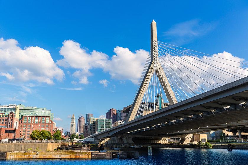 Boston Zakim bridge in Bunker Hill Massachusetts USA.jpg