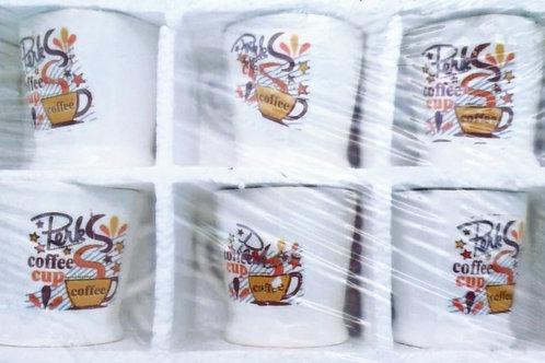 Tea cup 6pc