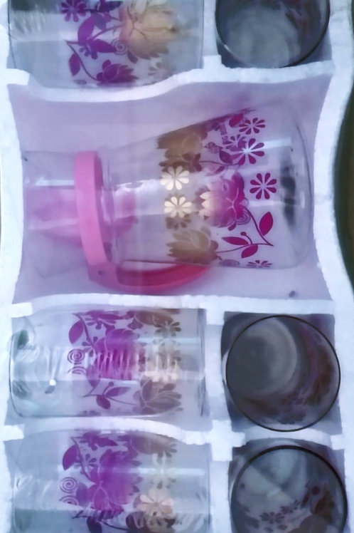 Glass and Jug set gift pack