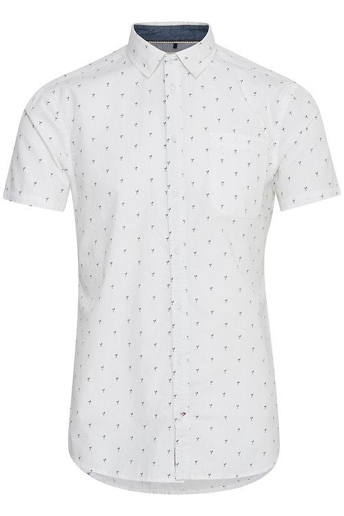 Chemises blanche à manches courtes hommes