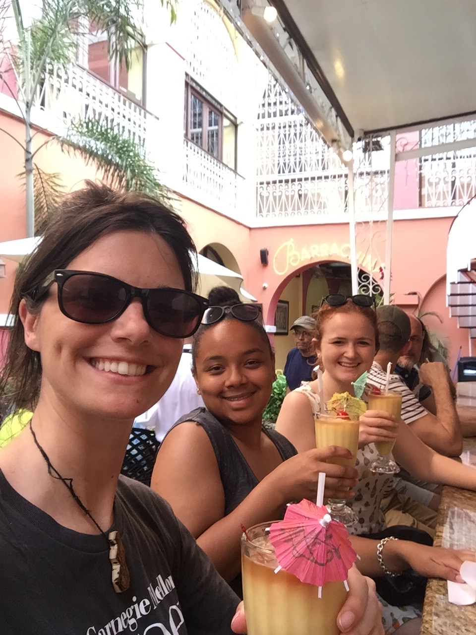 Enjoying Free Time in Old San Juan
