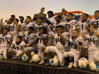 10U Bartow County Panthers win NWGYFL Super Bowl