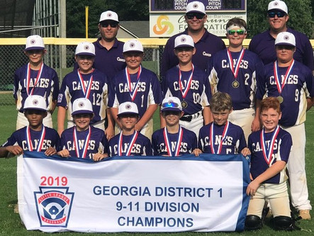 Cartersville LL 11U finishes 4th at state tourney