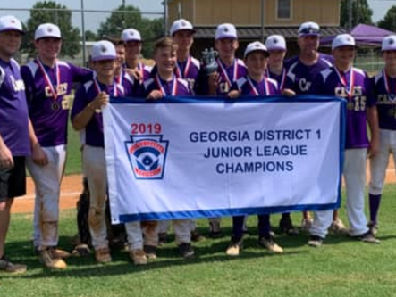 Cartersville Junior LL tops Bartow County for District 1 championship