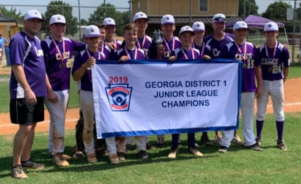 Cartersville Junior LL tops Bartow County for District 1