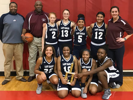 Excel Christian Academy Middle School girls win CFAA title