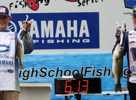 AHSBA results from event on Lake Lanier