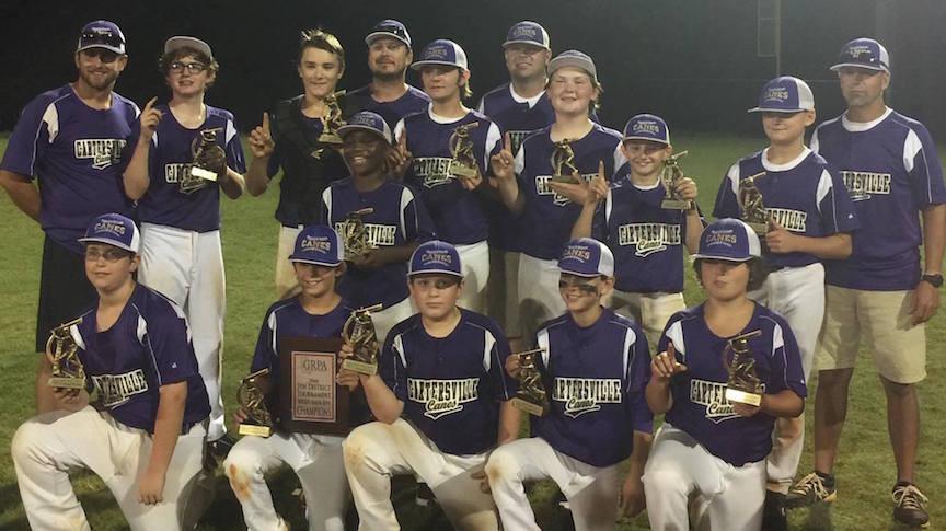 Cartersville Little League 11/12B wins 2016 GRPA District 5 tournament