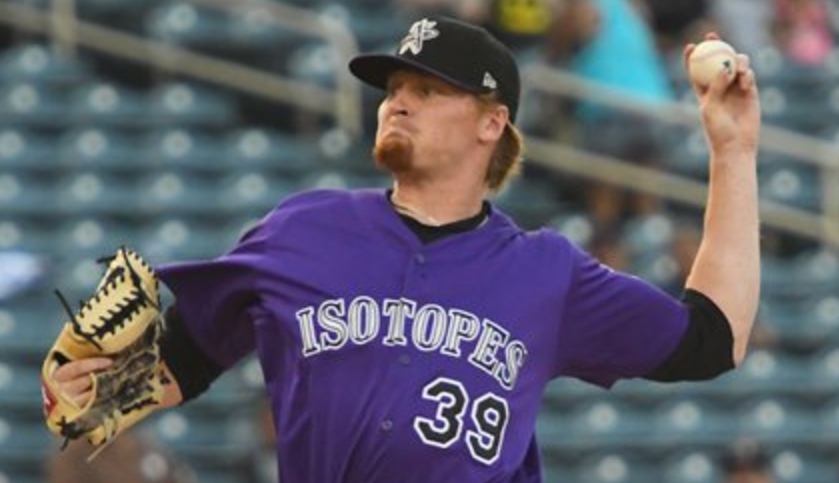Sam Howard, Albuquerque Isotopes