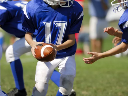Local youth football games played September 16-17