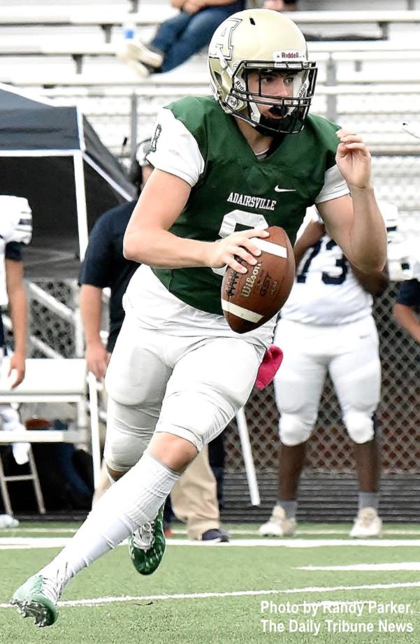 Conner Crunkelton, Adairsville High School quarterback.