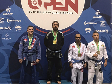Kimsey takes Jiu-Jitsu gold at IBJJF Atlanta Spring Open