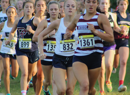 XC Roundup: Trapheagen, Evans finish 1-2 in Woodland's Run at the Rock