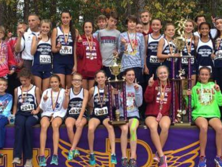 Woodland Middle School cross country teams capture overall state title, Cartersville Middle School b