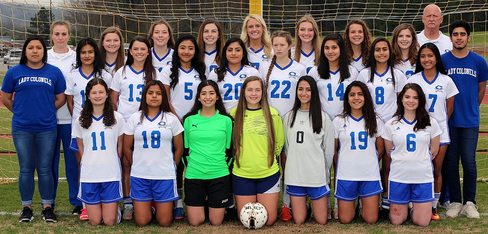 Cass HS girls soccer 2018 team photo