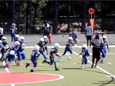 Local youth football games played Saturday, September 14