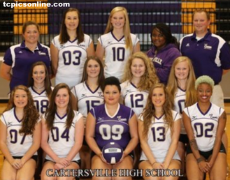 Lady Canes volleyball team advances to state playoffs