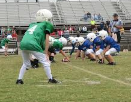 Youth football games played Thursday, September 12