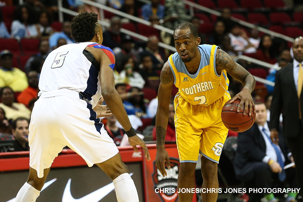 Adrian Rodgers helps lead Southern Jaguars to 2016 NCAA Tournament. CREDIT: Chris Jones Photography