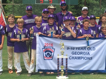 Cartersville Little League 10U falls to Virginia in Tournament of State Champions semifinals