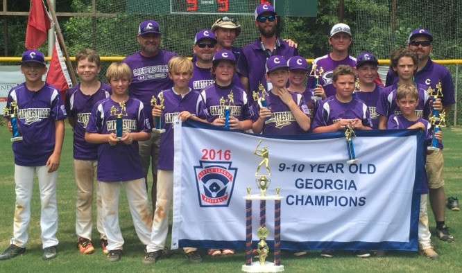 Cartersville Little League 10U state champs 2016