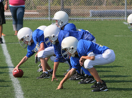 Recent youth recreation football game capsules