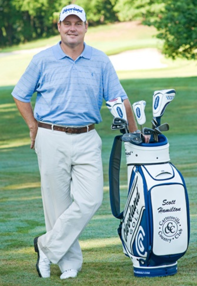 Scott Hamilton, Scott Hamilton Golf Academy, Cartersville Country Club