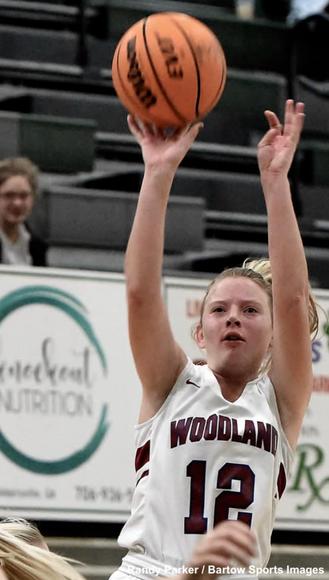 Woodland, Cartersville split Tuesday night games